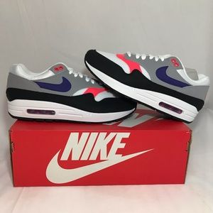 Nike Air Max 1 Raptors Pink Flash Lifestyle Shoes